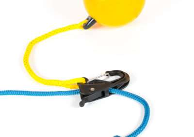 Black universal hook with buoy