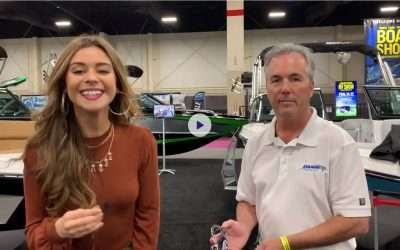 Danik Hook at the 2019 Utah Boat Show